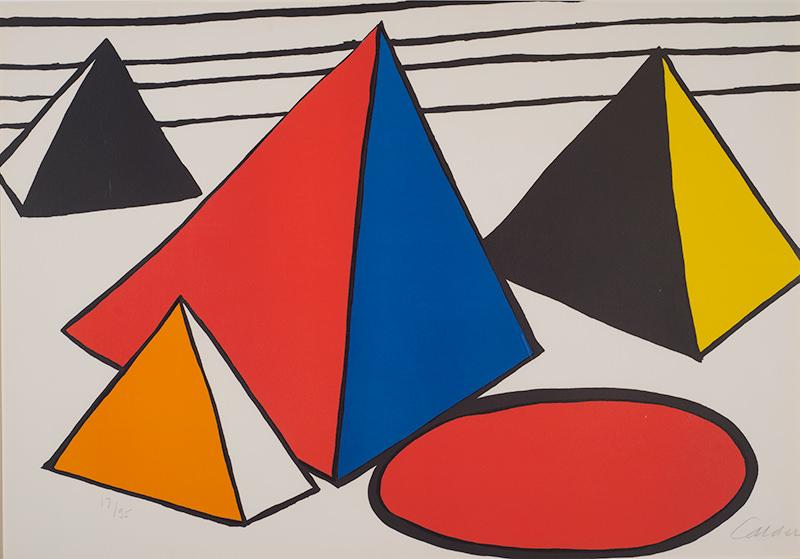Calder, Four Pyramids